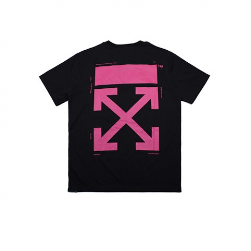 Cheap Off-White T-Shirts Short Sleeved O-Neck For Men #464061 Replica Wholesale [$28.13 USD] [W#464061] on Replica Off-White T-Shirts