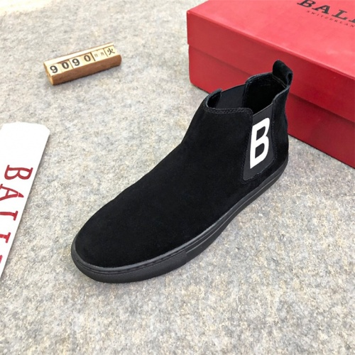 Cheap Bally Fashion Boots For Men #464091 Replica Wholesale [$77.60 USD] [W#464091] on Replica Bally Fashion Boots