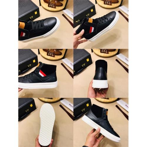 Cheap Bally High Tops Shoes For Men #464095 Replica Wholesale [$77.60 USD] [W#464095] on Replica Bally High-Tops Shoes