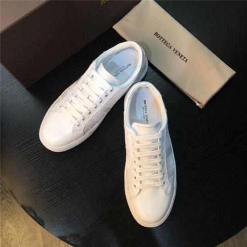 Cheap Bottega Veneta BV Shoes For Men #464120 Replica Wholesale [$77.60 USD] [W#464120] on Replica Bottega Veneta BV Casual Shoes