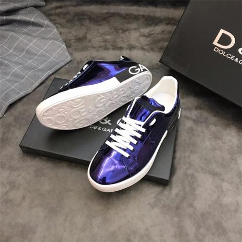 Cheap Dolce&Gabbana D&G Shoes For Men #464177 Replica Wholesale [$72.75 USD] [W#464177] on Replica D&G Casual Shoes