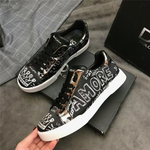 Cheap Dolce&Gabbana D&G Shoes For Men #464203 Replica Wholesale [$75.66 USD] [W#464203] on Replica D&G Casual Shoes