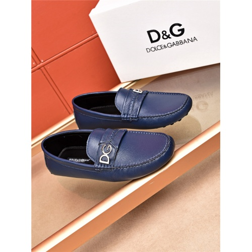 Cheap Dolce&Gabbana D&G Leather Shoes For Men #464220 Replica Wholesale [$75.66 USD] [W#464220] on Replica Dolce & Gabbana D&G Leather Shoes