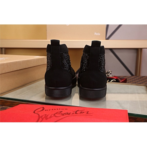 Cheap Christian Louboutin CL High Tops Shoes For Men #464231 Replica Wholesale [$125.13 USD] [W#464231] on Replica Christian Louboutin High Tops Shoes
