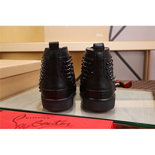 Cheap Christian Louboutin CL High Tops Shoes For Women #464247 Replica Wholesale [$77.60 USD] [W#464247] on Replica Christian Louboutin High Tops Shoes