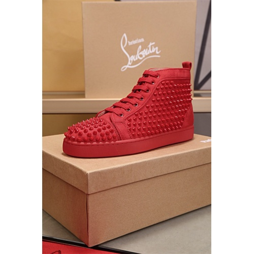 Cheap Christian Louboutin CL High Tops Shoes For Women #464251 Replica Wholesale [$77.60 USD] [W#464251] on Replica Christian Louboutin High Tops Shoes