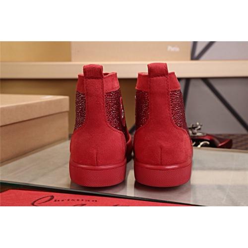 Cheap Christian Louboutin CL High Tops Shoes For Women #464257 Replica Wholesale [$125.13 USD] [W#464257] on Replica Christian Louboutin High Tops Shoes
