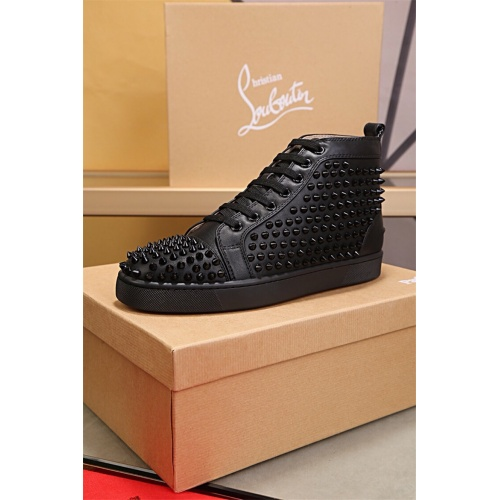 Cheap Christian Louboutin CL High Tops Shoes For Women #464259 Replica Wholesale [$125.13 USD] [W#464259] on Replica Christian Louboutin High Tops Shoes