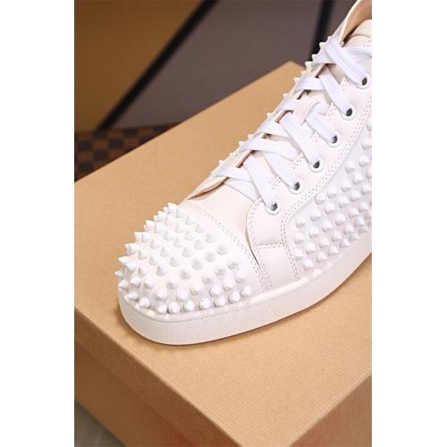 Cheap Christian Louboutin CL High Tops Shoes For Women #464260 Replica Wholesale [$125.13 USD] [W#464260] on Replica Christian Louboutin High Tops Shoes