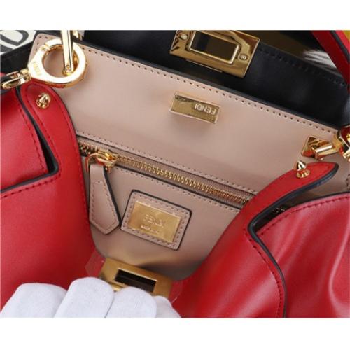 Cheap Fendi AAA Quality Handbags #464267 Replica Wholesale [$109.61 USD] [W#464267] on Replica Fendi AAA Quality Handbags
