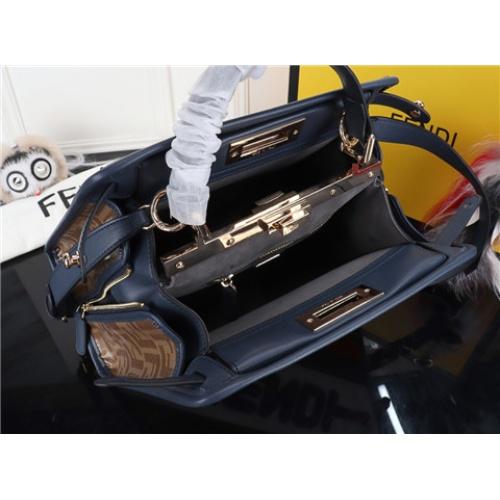 Cheap Fendi AAA Quality Handbags #464301 Replica Wholesale [$120.28 USD] [W#464301] on Replica Fendi AAA Quality Handbags