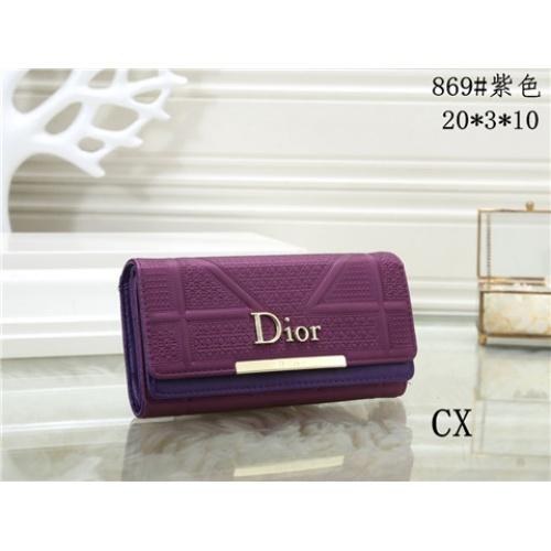Cheap Christian Dior Fashion Wallets #464339 Replica Wholesale [$16.98 USD] [W#464339] on Replica Dior Wallets