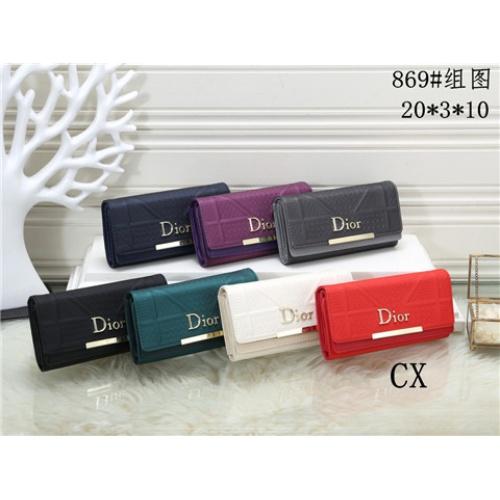 Cheap Christian Dior Fashion Wallets #464342 Replica Wholesale [$16.98 USD] [W#464342] on Replica Dior Wallets