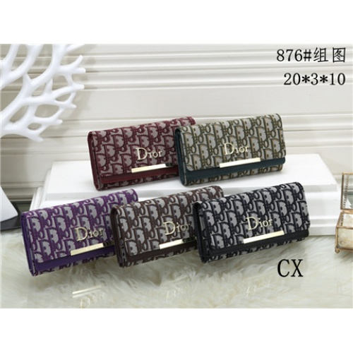 Cheap Christian Dior Fashion Wallets #464346 Replica Wholesale [$16.98 USD] [W#464346] on Replica Dior Wallets