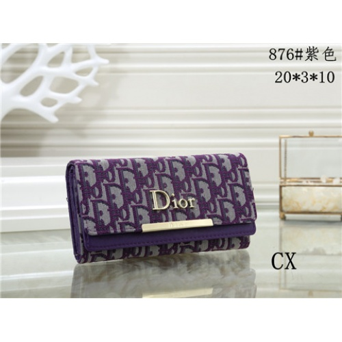 Cheap Christian Dior Fashion Wallets #464348 Replica Wholesale [$16.98 USD] [W#464348] on Replica Dior Wallets