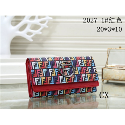 Cheap Fendi Fashion Wallets #464356 Replica Wholesale [$16.98 USD] [W#464356] on Replica Fendi Wallets