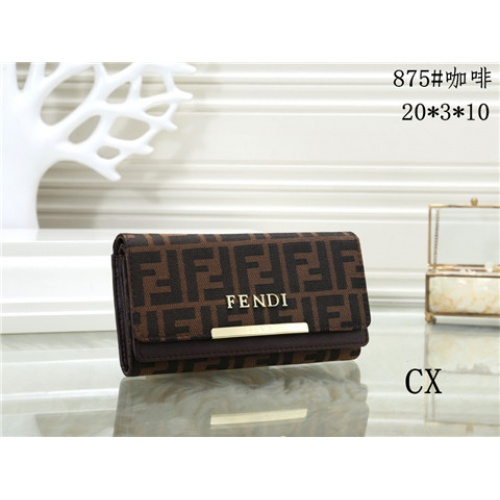 Cheap Fendi Fashion Wallets #464360 Replica Wholesale [$16.98 USD] [W#464360] on Replica Fendi Wallets