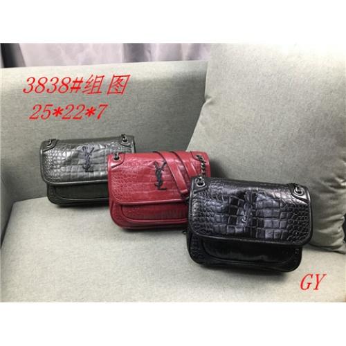 Cheap Yves Saint Laurent YSL Fashion HandBags #464372 Replica Wholesale [$26.19 USD] [W#464372] on Replica Yves Saint Laurent YSL Handbag