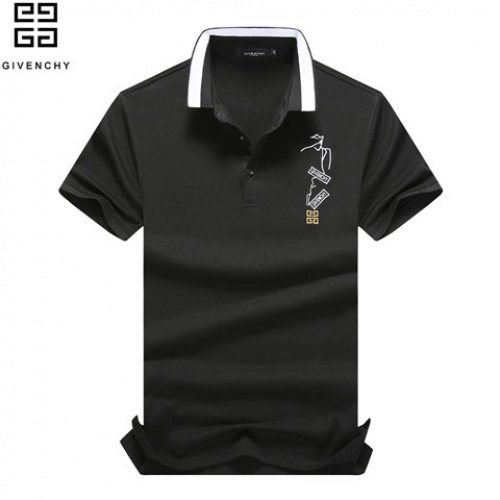 Cheap Givenchy T-Shirts Short Sleeved Polo For Men #464443 Replica Wholesale [$32.98 USD] [W#464443] on Replica Givenchy T-Shirts