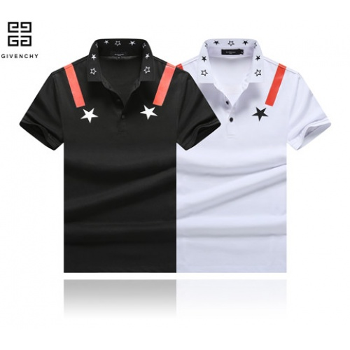 Cheap Givenchy T-Shirts Short Sleeved Polo For Men #464445 Replica Wholesale [$32.98 USD] [W#464445] on Replica Givenchy T-Shirts