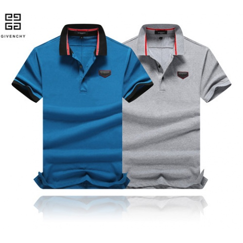 Cheap Givenchy T-Shirts Short Sleeved Polo For Men #464446 Replica Wholesale [$32.98 USD] [W#464446] on Replica Givenchy T-Shirts