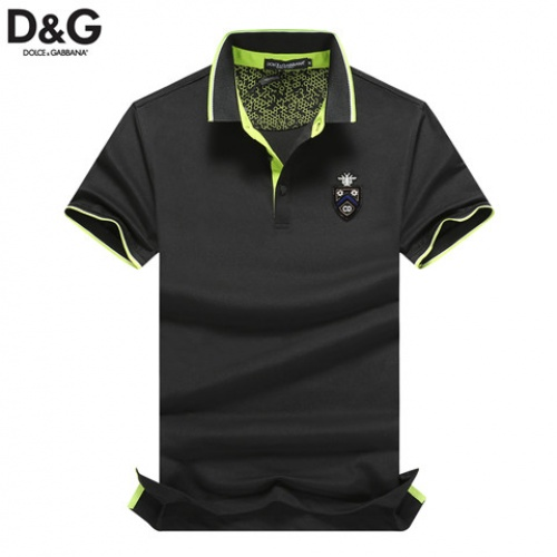 Cheap Dolce & Gabbana D&G T-Shirts Short Sleeved Polo For Men #464474 Replica Wholesale [$32.98 USD] [W#464474] on Replica Dolce & Gabbana D&G T-Shirts