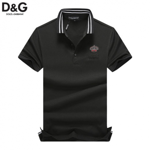 Cheap Dolce & Gabbana D&G T-Shirts Short Sleeved Polo For Men #464480 Replica Wholesale [$32.98 USD] [W#464480] on Replica Dolce & Gabbana D&G T-Shirts