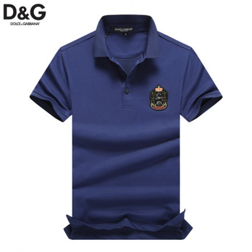 Cheap Dolce & Gabbana D&G T-Shirts Short Sleeved Polo For Men #464484 Replica Wholesale [$32.98 USD] [W#464484] on Replica Dolce & Gabbana D&G T-Shirts