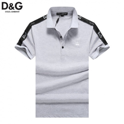 Dolce & Gabbana D&G T-Shirts Short Sleeved Polo For Men #464495