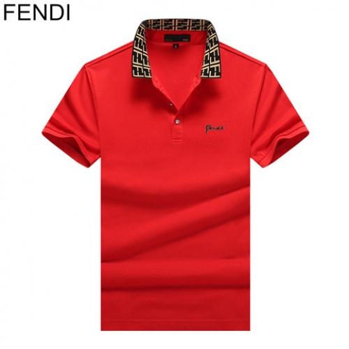 Cheap Fendi T-Shirts Short Sleeved Polo For Men #464509 Replica Wholesale [$32.98 USD] [W#464509] on Replica Fendi T-Shirts
