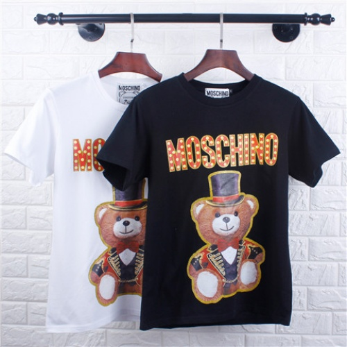 Cheap Moschino T-Shirts Short Sleeved O-Neck For Men #464612 Replica Wholesale [$28.13 USD] [W#464612] on Replica Moschino T-Shirts