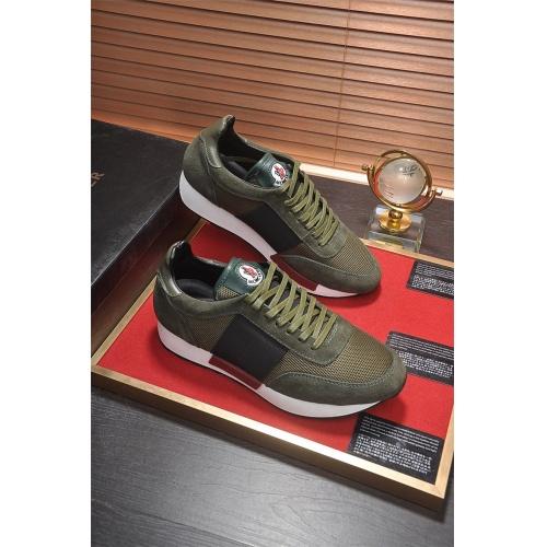 Cheap Moncler Casual Shoes For Men #464678 Replica Wholesale [$77.60 USD] [W#464678] on Replica Moncler Shoes