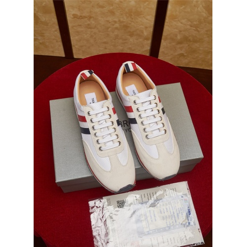 Cheap Thom Browne Casual Shoes For Men #464682 Replica Wholesale [$79.54 USD] [W#464682] on Replica Thom Browne Shoes