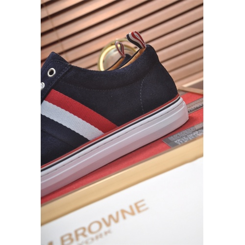 Cheap Thom Browne Casual Shoes For Men #464706 Replica Wholesale [$77.60 USD] [W#464706] on Replica Thom Browne Shoes