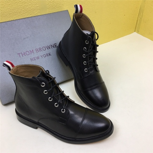 Cheap Thom Browne Fashion Boots For Men #464709 Replica Wholesale [$100.88 USD] [W#464709] on Replica Thom Browne Shoes