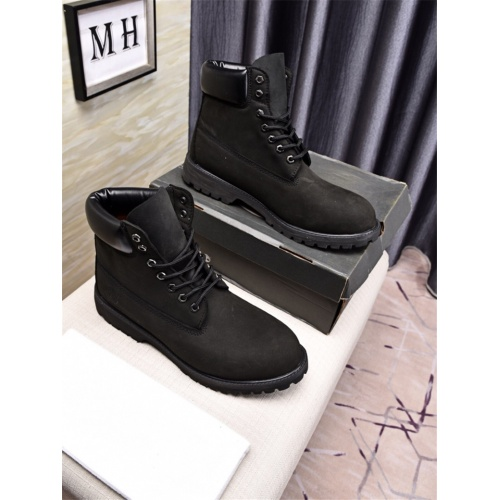 Cheap Timberland Fashion Boots For Men #464715 Replica Wholesale [$77.60 USD] [W#464715] on Replica Timberland Boots