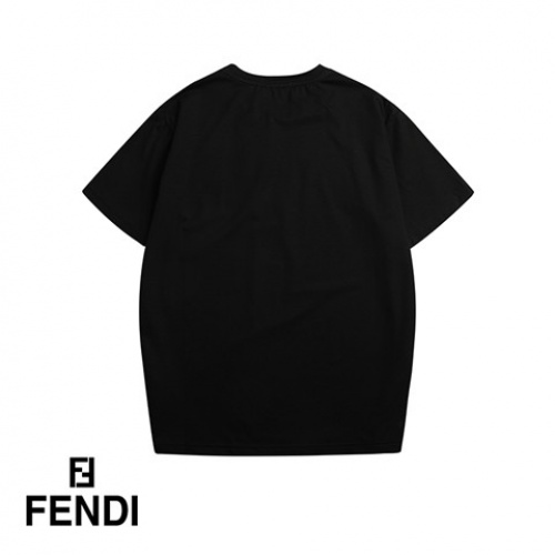 Cheap Fendi T-Shirts Short Sleeved O-Neck For Men #464724 Replica Wholesale [$36.86 USD] [W#464724] on Replica Fendi T-Shirts