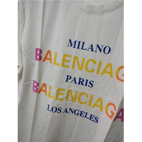 Cheap Balenciaga T-Shirts Short Sleeved O-Neck For Men #464740 Replica Wholesale [$28.13 USD] [W#464740] on Replica Balenciaga T-Shirts