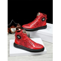 Versace High Tops Shoes For Men #462292