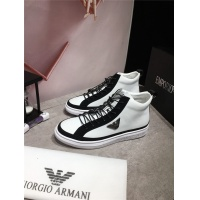 Armani High Tops Shoes For Men #462313