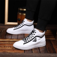 Armani High Tops Shoes For Men #462317