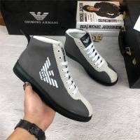 Armani High Tops Shoes For Men #462318
