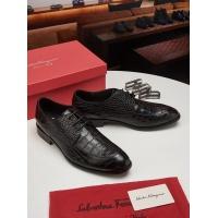 Salvatore Ferragamo SF Leather Shoes For Men #463195