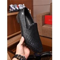 Salvatore Ferragamo SF Leather Shoes For Men #463204