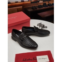 Salvatore Ferragamo SF Leather Shoes For Men #463245