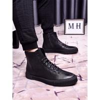 Prada High Tops Shoes For Men #463613