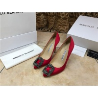 Manolo Blahnik High-Heeled Shoes For Women #463731