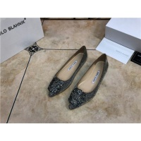 Manolo Blahnik Flat Shoes For Women #463746