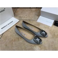 Manolo Blahnik Flat Shoes For Women #463747