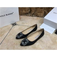 Manolo Blahnik Flat Shoes For Women #463748